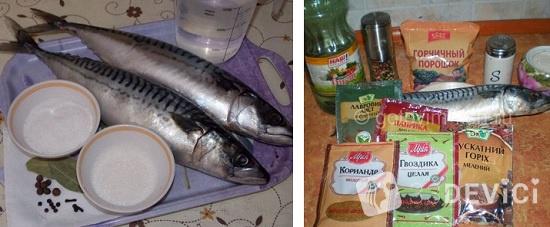 рецепт маринад скумбрии дома