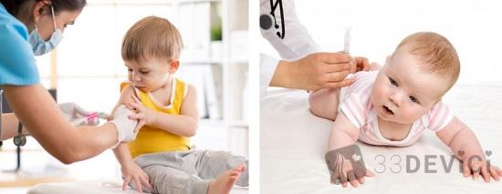 какие прививочные уколы делают новорожденным
