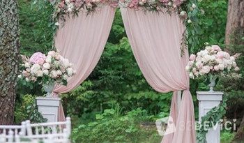 Свадебная арка: варианты формы