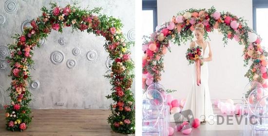 украшения для свадебной фотозоны