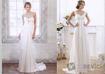 невеста в греческом стиле