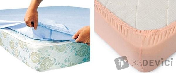 Ткань для простыни на резинке