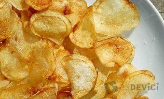 Как сделать чипсы дома