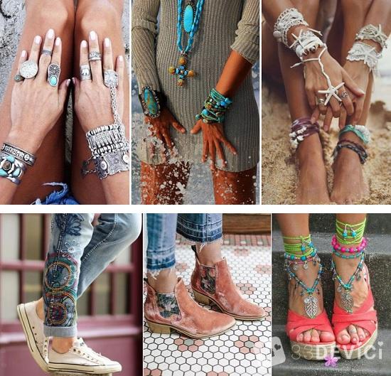 обувь в стиле бохо фото